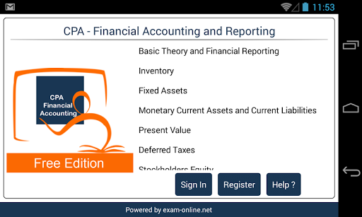CPA FAR Exam Online Free