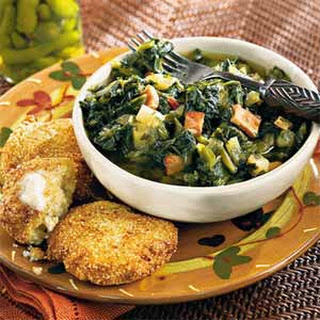 Turnip Greens Stew.