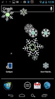 Screenshot of Snow Pulse Live Wallpaper