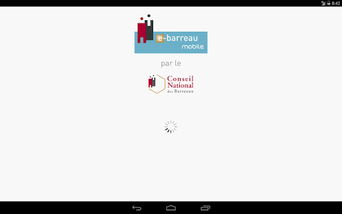 e-Barreau Mobile- screenshot thumbnail