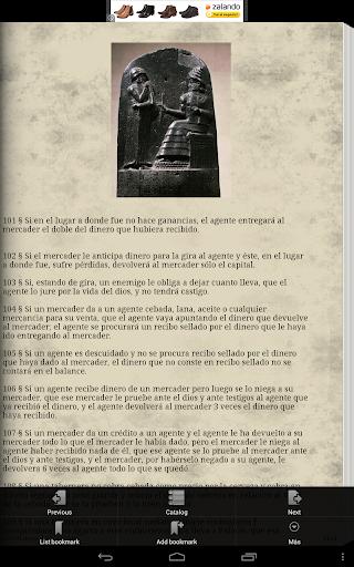 El codigo de hammurabi - ebook