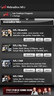 NRJ Québec - screenshot thumbnail