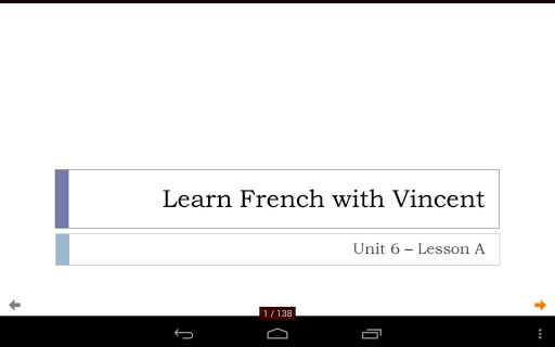 French with Vincent - Unit 6