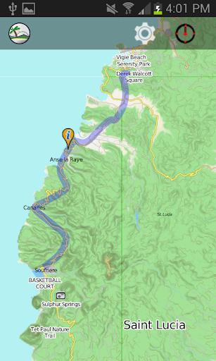 免費旅遊App|CARIBBEAN TRAVELLER'S MAP|阿達玩APP