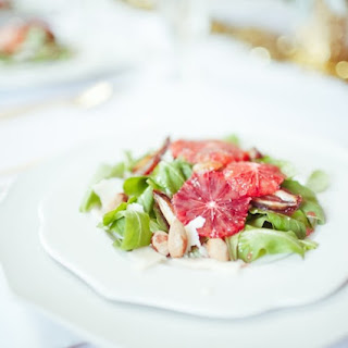 Arugula & Blood Orange Salad.