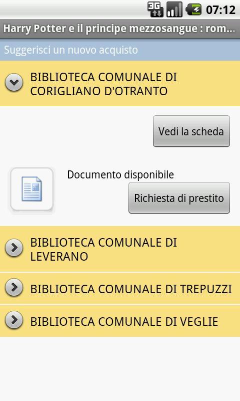 Bibliando- screenshot