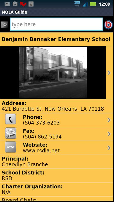 NOLA Parent's Guide - screenshot