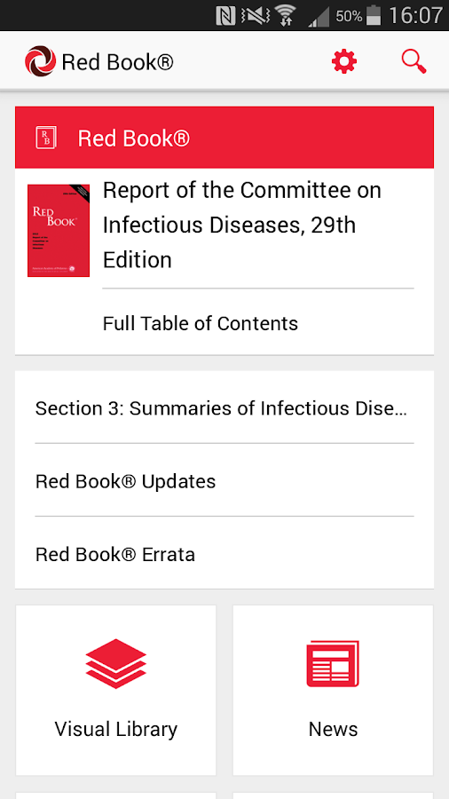 AAP Red Book - screenshot