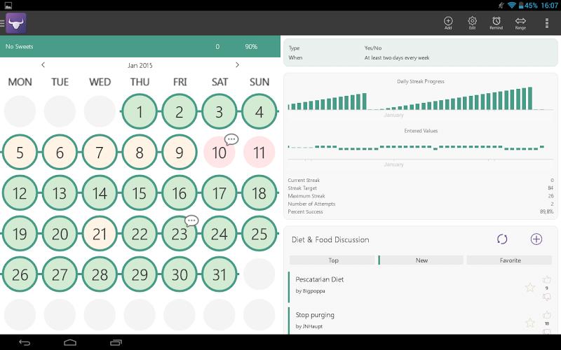 Habit Tracker Screenshot 9