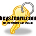 Keys-the search game logo