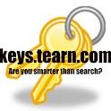Keys-the search game logo