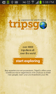 TripsGo- screenshot thumbnail