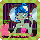 Monster Zombie Girl Dressup