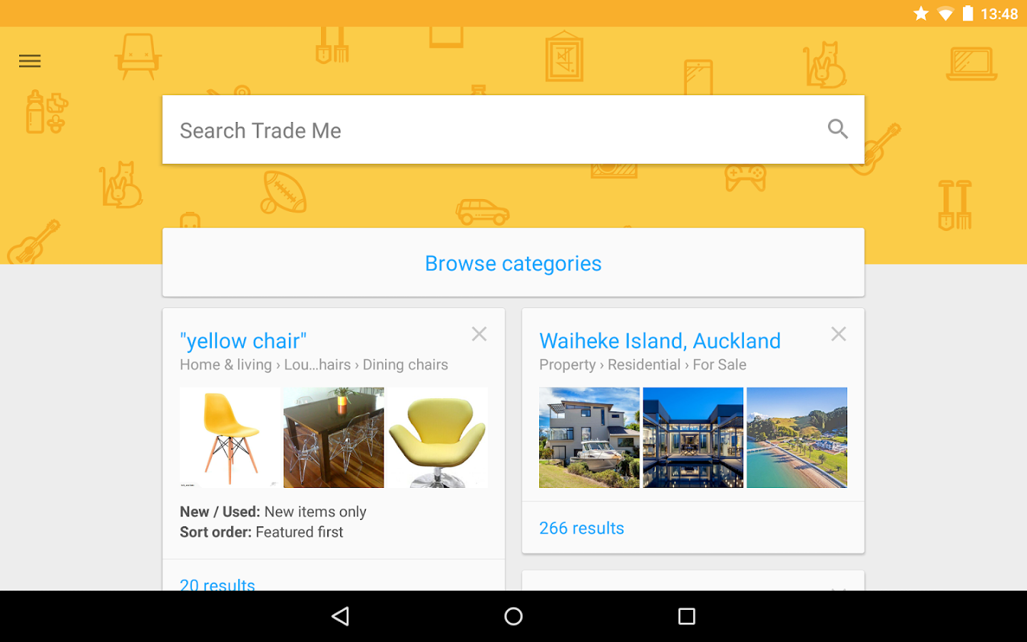 Trade Me - screenshot