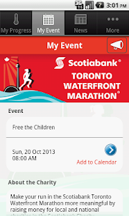 Scotiabank Charity Challenge - screenshot thumbnail