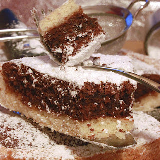 Cocoa Frangipane Pie