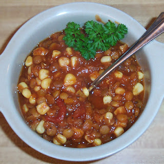 Lentil Chili recipe – 155 calories