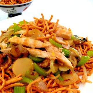 Chinese-American Chow Mein.