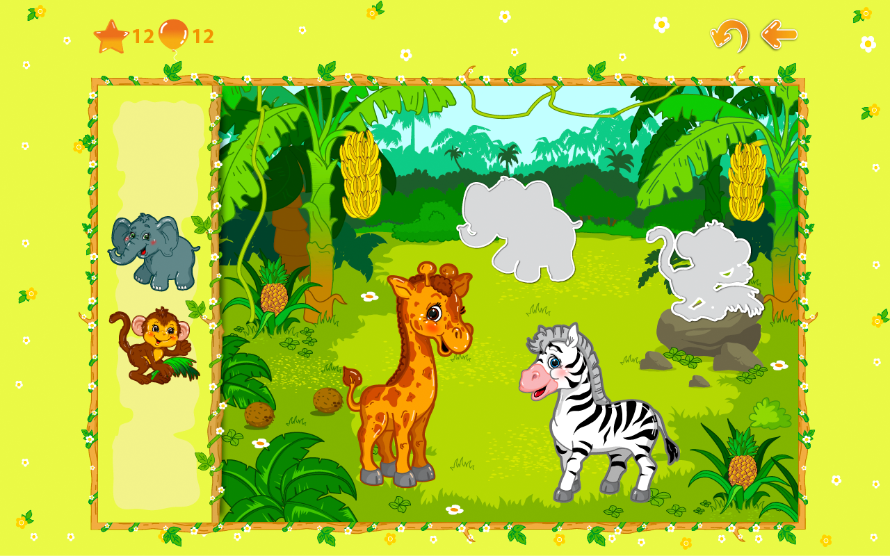 Animal puzzles for toddlers 1+ screenshot #3