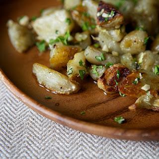 Roasted Sunchokes with Hazelnut Gremolata Recipe