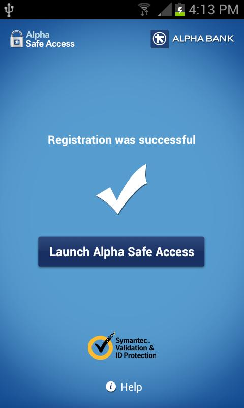 Alpha Safe Access - screenshot