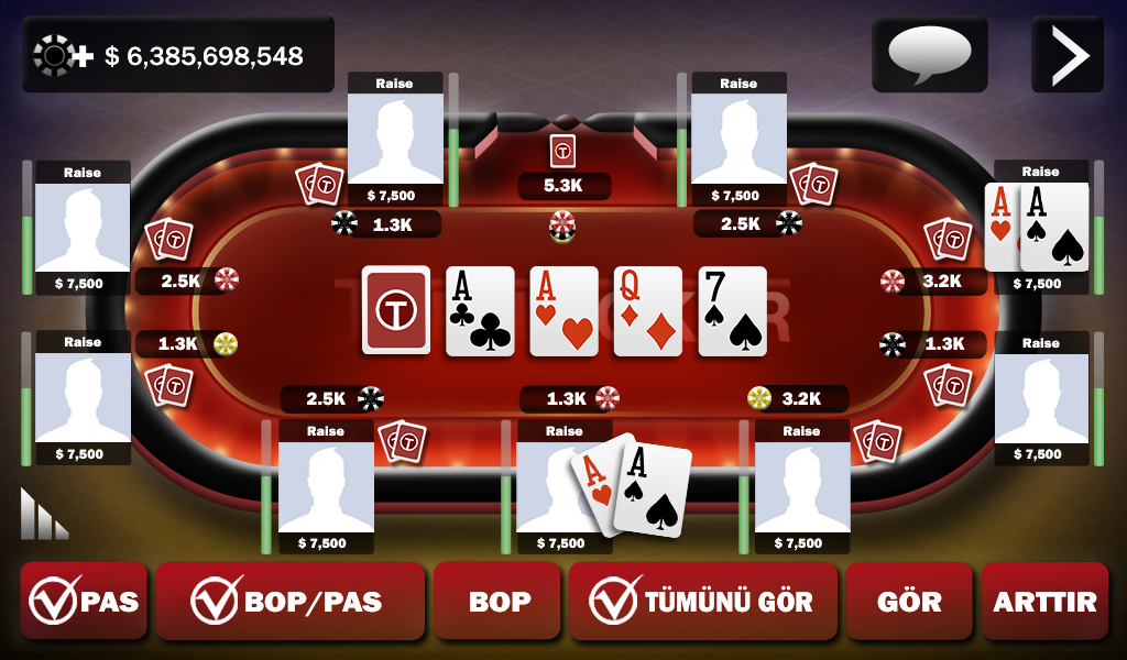 Turn Poker - Android Apps on Google Play