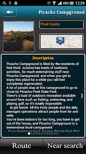 Arizona Campgrounds- screenshot thumbnail