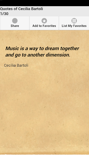 Quotes of Cecilia Bartoli