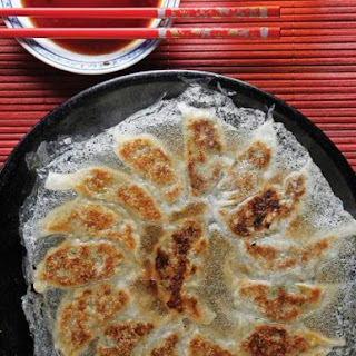Classic Pork Gyoza From 'Japanese Soul Cooking'.