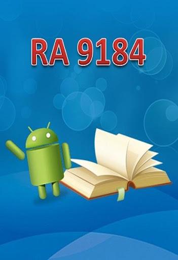 RA 9184