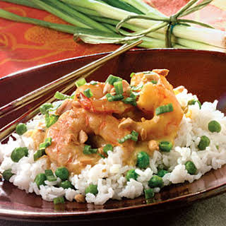 Sweet Curried Shrimp.