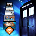 Doctor Who: WhoFeed logo