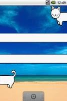 Screenshot of Long Cat Wigets