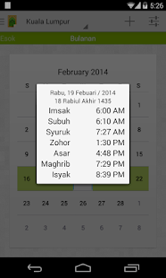 MySolat - Malaysia Prayer Time - screenshot thumbnail