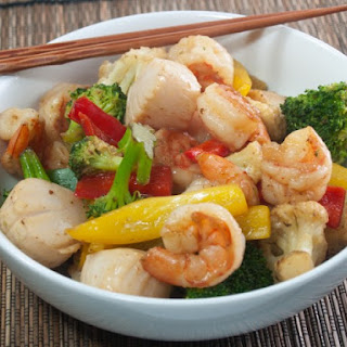 Saucy Seafood Stir-Fry