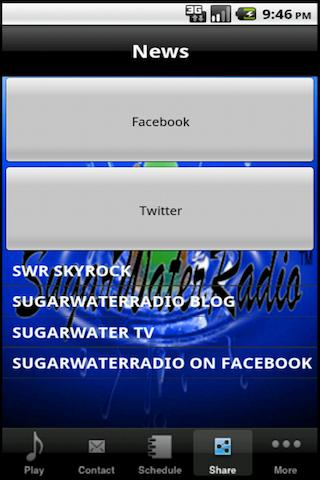 Sugar Water Radio- screenshot