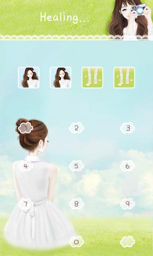 【免費個人化App】헷지 힐링 카카오톡 테마-APP點子