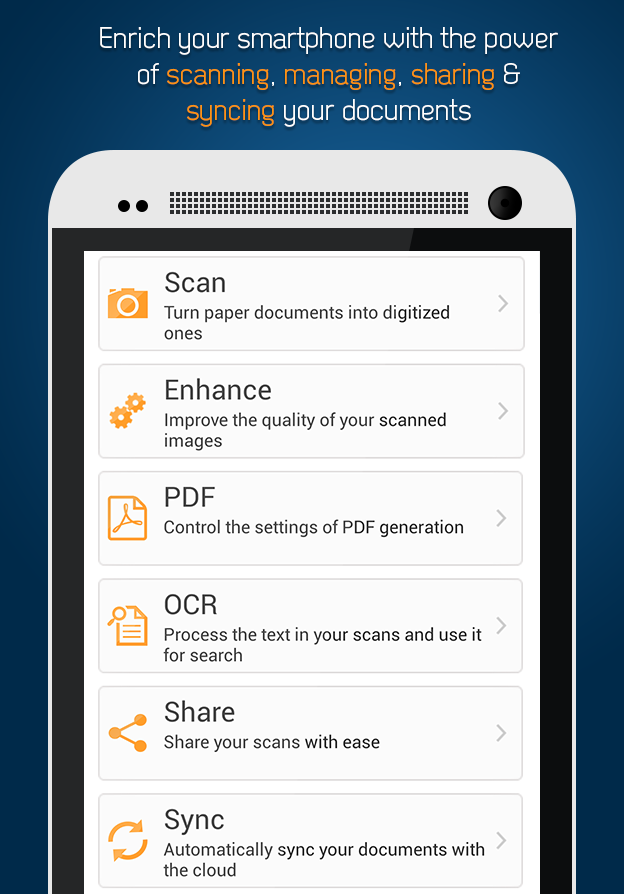 Smart Doc Scanner: Scan to PDF - screenshot