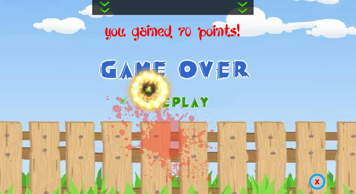 Crazy Fruits Killer- screenshot