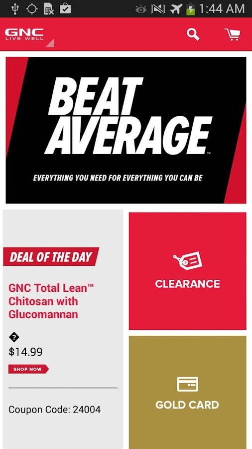 Does GNC have a rewards program?