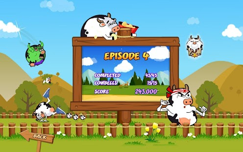 Cowaboom - Launch the cow !- screenshot thumbnail