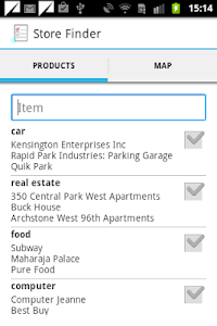 Store Finder screenshot 0