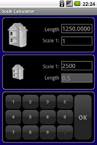 Scale Calculator screenshot 1
