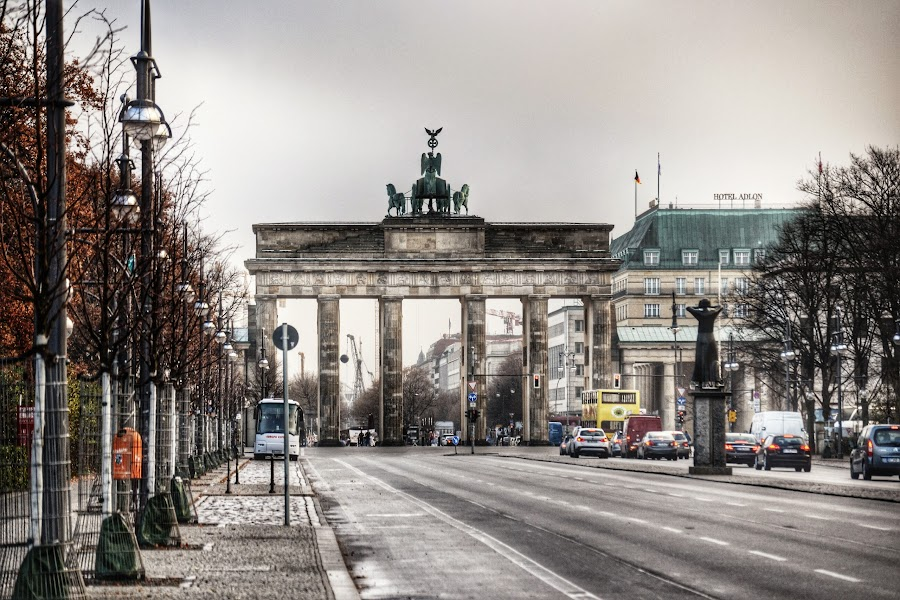Brandenburg Gate by Neil Duffen - City,  Street & Park  Historic Districts