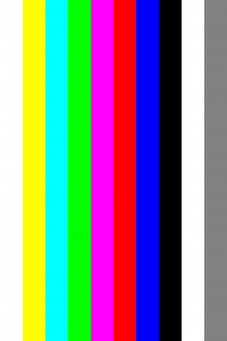 Advanced Test Card - screenshot