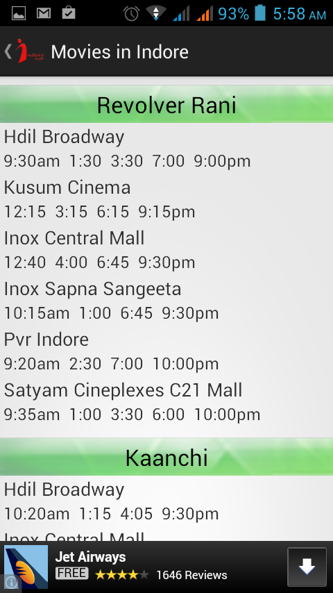 Indore Info- screenshot