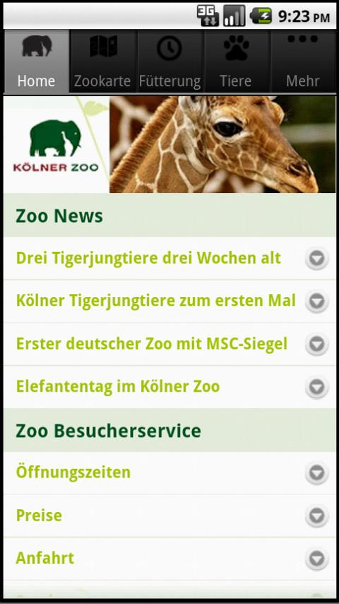 Kölner Zoo- screenshot