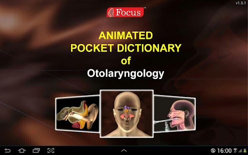 Otolaryngology-Dictionary - screenshot thumbnail