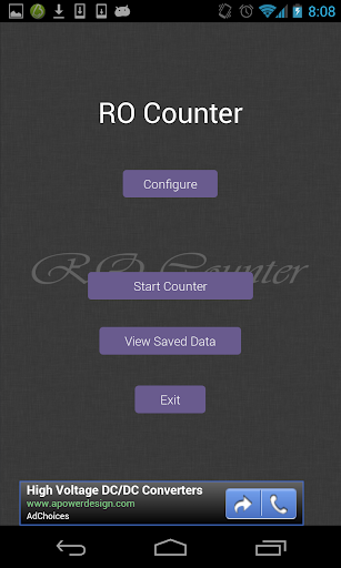 RO Counter