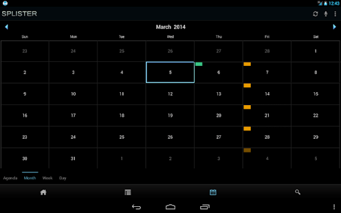 SPLISTER Voice Task & Calendar- screenshot thumbnail